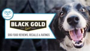 Black Gold Dog Food Reviews